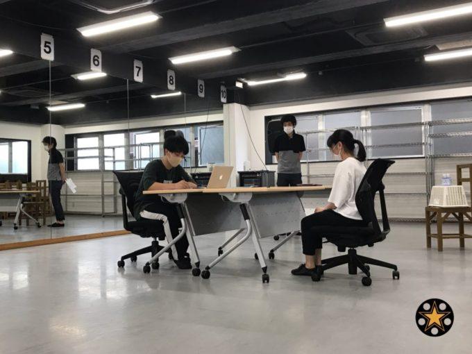 俳優科 映像&ダンス授業( *´ω`* )/