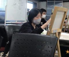 デッサンの授業.....φ(・∀・*)