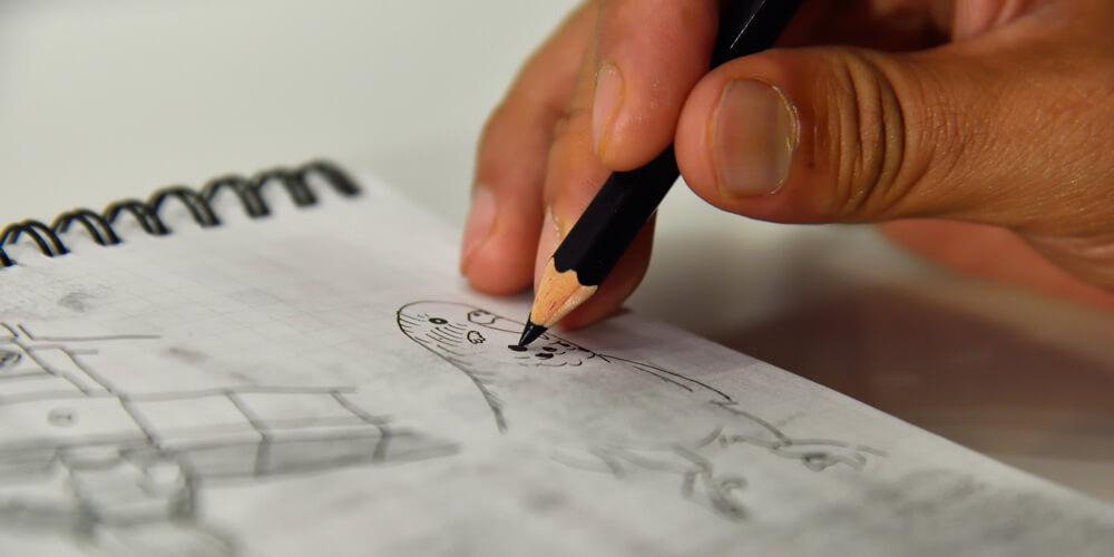 美術スタッフになるために欠かせない「デッサン力」の鍛え方