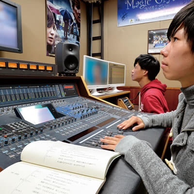 音声録音実習